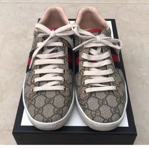 Gucci Shoes - Gucci size 6 sneakers with box 100% authentic